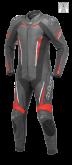 Kombinezon 1częściowy motocyklowy BUSE Imola czarno-czerwony 50