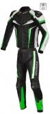 Kombinezon motocyklowy BUSE Mille czarno-zielony 50