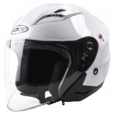 Kask motocyklowy ROCC 210 biały połysk L