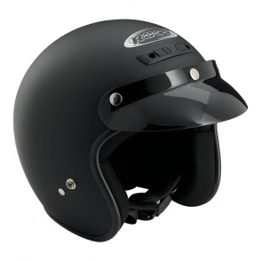 Kask motocyklowy ROCC Classic czarny matowy