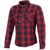 Koszula bawełniana damska M11 Karo czerwona