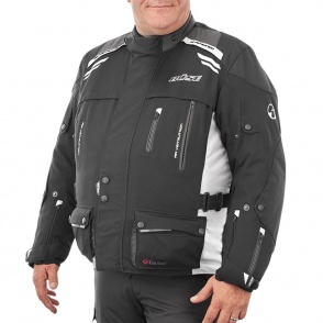 Kurtka motocyklowa BUSE Highland czarno-szara