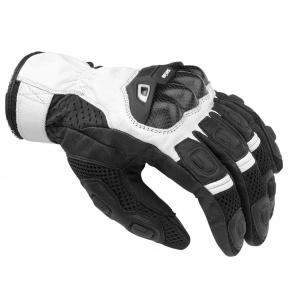 Rękawice motocyklowe BUSE Airway czarno-białe