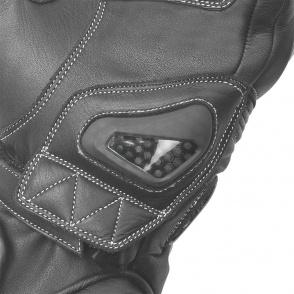 Rękawice motocyklowe BUSE Misano czarne