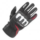 Rękawice motocyklowe BUSE Open Road Sport czarno-czerwone
