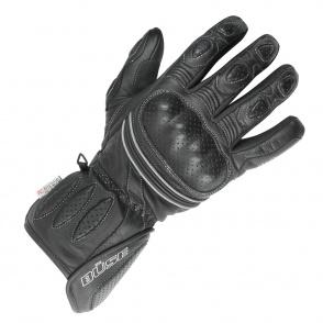 Rękawice motocyklowe BUSE Pit Lane czarne
