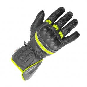 Rękawice motocyklowe BUSE Pit Lane czarno-żółte