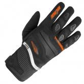 Rękawice motocyklowe dziecięce BUSE Fresh czarno-pomarańczowe