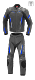 Kombinezon motocyklowy BUSE Imola czarno-niebieski 56
