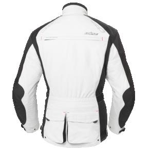 Kurtka motocyklowa BUSE Adventure STX czarno-biała
