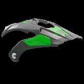 Daszek do kasku ROCC 771 zielony