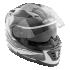 Kask motocyklowy ROCC 481 czarno-biały