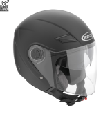 Kask motocyklowy ROCC 231 czarny mat L