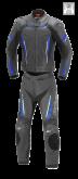 Kombinezon motocyklowy damski BUSE Imola czarno-niebieski 38