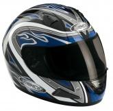 Kask motocyklowy ROCC Heat niebieski