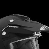 Wentylacja głowy do kasku ROCC 720 czarny matowy