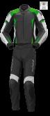 Kombinezon motocyklowy BUSE La-Guna czarno-zielony
