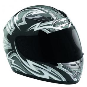 Kask motocyklowy ROCC Tarantulas szary