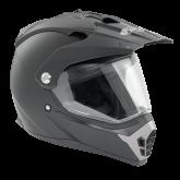 Kask motocyklowy ROCC 770 czarny matowy