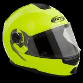 Kask motocyklowy ROCC 680 neonowy XS