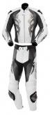 Kombinezon motocyklowy skórzany BUSE Monza LTD czarno-biały
