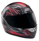 Kask motocyklowy ROCC Warrior czerwony