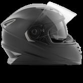 Kask motocyklowy ROCC 480 czarny matowy