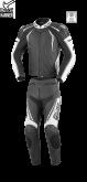 Kombinezon motocyklowy damski BUSE Silverstone Pro czarno-biały