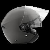 Kask motocyklowy ROCC 180 tytanowy matowy