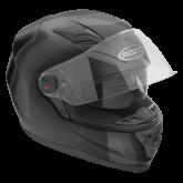 Kask motocyklowy ROCC 320 czarny metalik