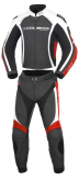 Kombinezon motocyklowy BUSE Donington czarno-czerwony