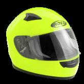 Kask motocyklowy dziecięcy ROCC 380 Jr. żółty neonowy