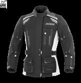 Kurtka motocyklowa damska BUSE Highland czarno-biała