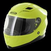 Kask motocyklowy dziecięcy ROCC 41 Jr. żółty neonowy 52