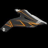 ROCC 851 daszek czarno/neon/pomarańcz