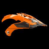 Daszek do kasku ROCC 771 neonowo-pomarańczowy
