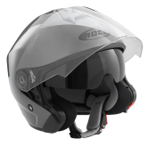 Kask motocyklowy ROCC 180 tytanowy połysk