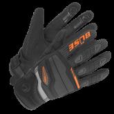 Rękawice motocyklowe BUSE Fresh czarno-pomarańczowe