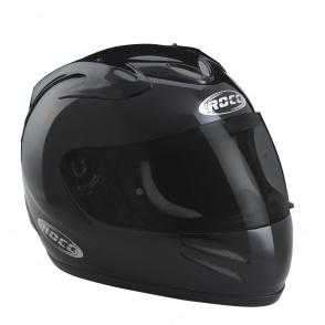 Kask motocyklowy ROCC 500 czarny metalik
