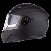 Kask motocyklowy ROCC 330 czarny mat S