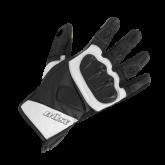 Rękawice motocyklowe BUSE Fast Track czarno-białe