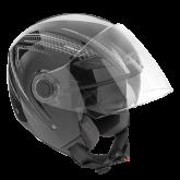 Kask motocyklowy ROCC 231 czarno-szary XS