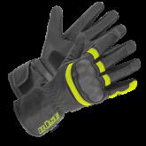 Rękawice motocyklowe BUSE ST Match czarno-neonowe