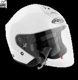 Kask motocyklowy ROCC 180 biały połysk