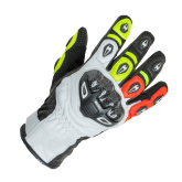 Rękawice motocyklowe BUSE Airway czarno-neonowe 10