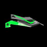 Daszek do kasku ROCC 712 Jr. zielony/czarny