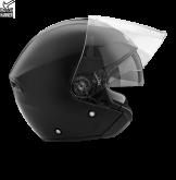 Kask motocyklowy ROCC 180 czarny matowy