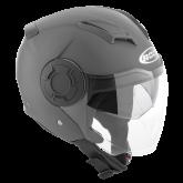 Kask motocyklowy ROCC 280 tytan mat