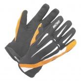 Rękawice motocyklowe dziecięce BUSE G-MX Pro czarno-pomarańczowe
