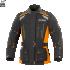 Kurtka motocyklowa damska BUSE Highland czarno-pomarańczowa